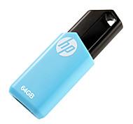 hp 64gb v150w usb pen drive flash de 2.0