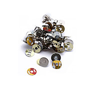 20 Set 14mm Silver Magnetic Clasps Buttons for Handbag Bag Sewing Craft DIY Hot