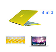 2016 Top Selling PVC MacBook Case with Keyboard Cover and Screen Flim for  MacBook Air 13.3 inch