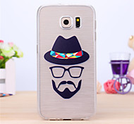Fashion Boy Pattern TPU Case for Samsung Galaxy S6