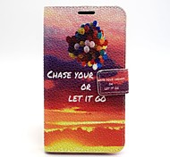 Sunset Leather Case with Stand for Samsung Galaxy S6/S5/S4/S3/S3 mini/S4 mini/S5 mini/ S6 edge