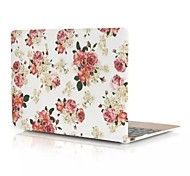 2015 Newest Colorful Flower Full Body Hard Case for New Macbook pro 15.4 inch (Assorted Colors)