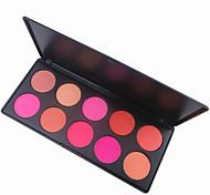10 Paleta de Sombras de Ojos Paleta de sombra de ojos Polvo Normal