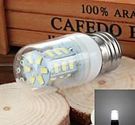 e27 2.5w 300lm 6000k / 3500k 24 smd 5730 llevó blanco Lámpara de maíz de la luz / calor (110v)