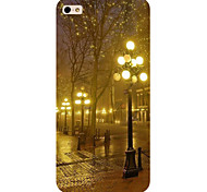 vue de nuit modèle de téléphone de couverture de cas pour iphone5c