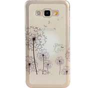 Dandelion Pattern TPU Soft Case for Galaxy A8