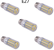 5 pcs E14/G9/E26/E27 15 W 60 SMD 5730 1500 LM Warm White/Cool White Corn Bulbs AC 85-265 V
