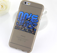 Post 90s Pattern TPU Soft Case for iPhone 6