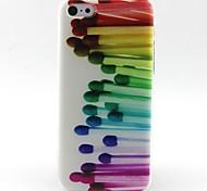 overeenkomt patroon TPU materiaal zacht telefoon Case voor iPhone 5c
