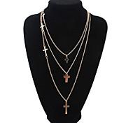 European Style Faith Cross Pendant Necklace