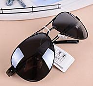Sunglasses Unisex's Sports / Fashion Flyer Black / Gold Sunglasses Full-Rim