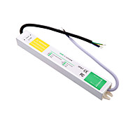 AC 90~250V to DC 12V 2.5A 30W Outdoor Waterproof Switching Power Supply for LED Strip.