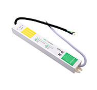 ac 90 ~ 250V de dc 12v 2.5a 30w outdoor potência de comutação à prova d'água de alimentação para tira conduzida.