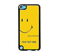 Personalized Gift Have a Nice Day Design Metal Case for iPod Touch 5