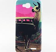 modello alpaca materiale TPU soft phone per lg L90 D405
