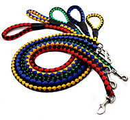 Pet Lead Training Walk Rope 130cm Long Strong Nylon Dog Puppy Leash