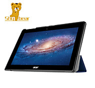 "Shy Bear™ Leather Cover Stand Case for Acer Iconia Tab 10 A3-A30 10.1"" Tablet"