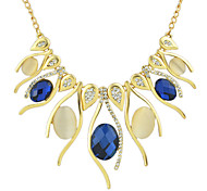 Large Rhinestone Women Shourouk Necklace