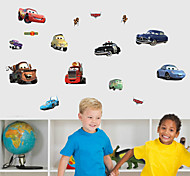 Cartoon Cars PVC Wall Sticker Wall Decals