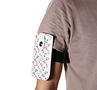 Universal Woodpecker Pattern PU Leather Hang Wist Band Wrist Strap for Mobile Phone under 5.5 inch