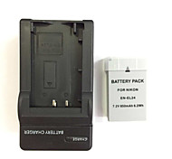 US 8.4V DC  EN-EL24 Charger +1(PCS)Camera Battery Pack  for Nikon 1 J5