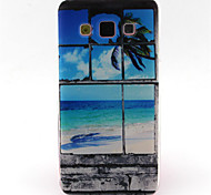 Beach  Pattern TPU Phone Case For Galaxy A3/A5