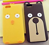 Creative New Stay Meng Cubs Cartoon Chicken Cell Phone Shell for iPhone 6(Assorted Colors)