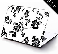 Elegant Design Flower Pattern Full-Body Protective Case for 11-inch/13-inch New MacBook Air