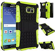 Für Samsung Galaxy Note Stoßresistent / mit Halterung Hülle Rückseitenabdeckung Hülle Panzer PC Samsung Note 5 Edge / Note 5