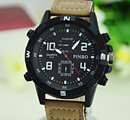 Men'S Watch Sport Round Silicone Watch Chinese Movement Movement Type(Assorted Colors)