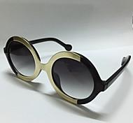 Sunglasses Women's Modern / Fashion Round Black Sunglasses Full-Rim