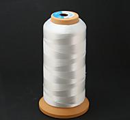 Beadia 700M/Roll 100% Nylon Thread 0.25mm White Beading Cord String