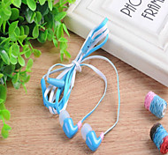 MD-097 Classic 1.0 Headphone 3.5mm In Ear 100cm for iPhone/Samsung/Huawei/Millet/Red Rice/HTC (Assorted Color)