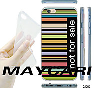Tasti maycari®colorful non per fondello trasparente morbida vendita modello TPU per il iPhone 6