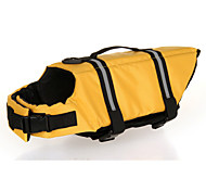 Oxford Cloth Yellow Life Jacket for Dogs XL