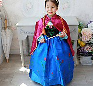 Cosplay Costumes/Party Costumes Halloween / Christmas / Children's Day Kid Princess Fairytale Costumes Costumes Dress / Shawl