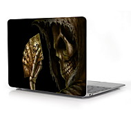 "Cool Skull Design Full-Body Protective Plastic Case for 12"" Inch The New Macbook with Retina Display (2015 Release)"