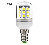 JUXIANG E14/GU10 5 W 30 SMD 5050 300 LM Cool White Recessed Retrofit Decorative Corn Bulbs AC 220-240 V
