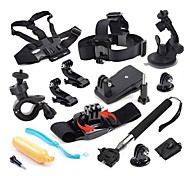 Gopro AccessoriesMonopod / Tripod / Gopro Case/Bags / Screw / Suction Cup / Straps / Clip / Hand Grips/Finger Grooves / Accessory Kit /