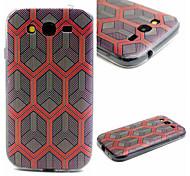 Honeycomb Pattern TPU Material Phone Case for Samsung  Galaxy Grand Neo i9060/G355H/G360/G850/G530/J1/G350