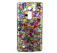 Lovely Face  Pattern Glitter TPU Cell Phone Soft Shell For LG G4