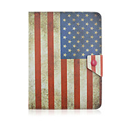 SZKINSTON American Flag Case Cover Shockproof with Stand Sleep Magnetic Pattern Full Body PU Leather For All 9.5 - 10.5 Inch Mobile Phone or Tablet