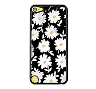 Little Daisy Leather Vein Pattern Hard Case for iPod touch 5