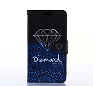 Elegant Diamond Pattern PU Leather Full Body Case with Stand for Samsung Galaxy Grand Prime G530H