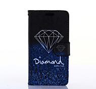 elegant Diamant-Muster PU-Leder Ganzkörper-Fall mit Standplatz für Samsung-Galaxie grand prime g530h
