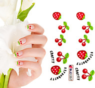 Shining Nail Sticker(3 pcs)