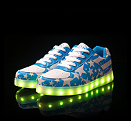 Men's LED Shoes USB charging Outdoor/Athletic/Casual  Fashion Sneakers Blue/Navy