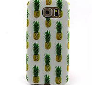 For Samsung Galaxy Case Pattern Case Back Cover Case Fruit TPU Samsung S6 edge / S6