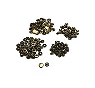 50pcs Metal Snap Fasteners Sewing Button Press Stud Vintage