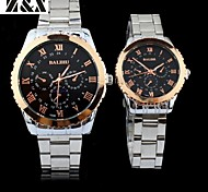 Couple's Fashion Leisure Water-Proof Quartz Wrist Watch(Assorted Colors) Cool Watches Unique Watches